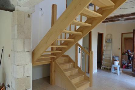 escaliers bois vendoeuvre