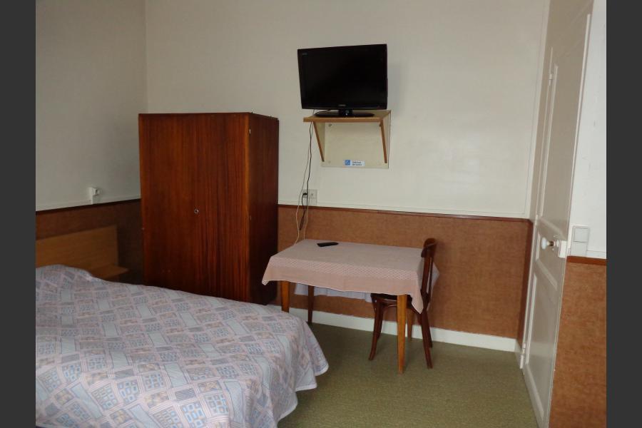 Aménagement de chambre d'hôtel