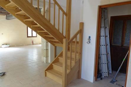 escaliers bois 86