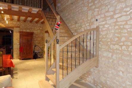 escaliers bois poitiers
